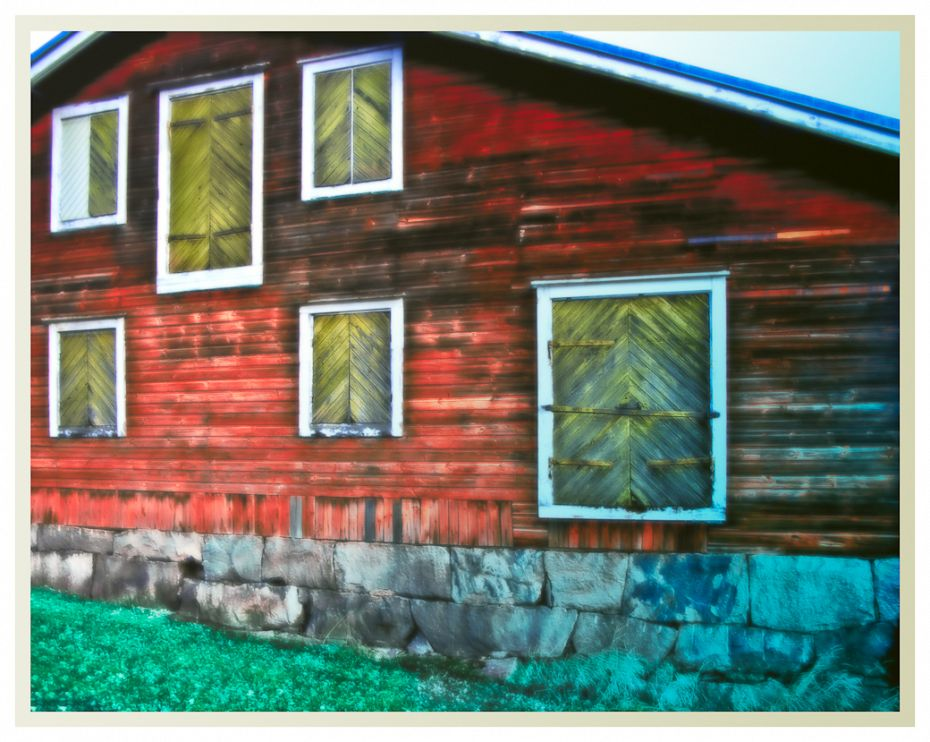 Old Finnish Barn 1 / Hanko 2011