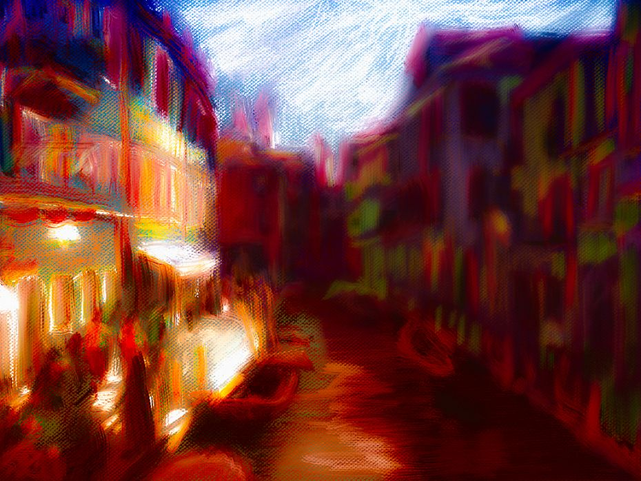 Venice / Photo Painting study 1