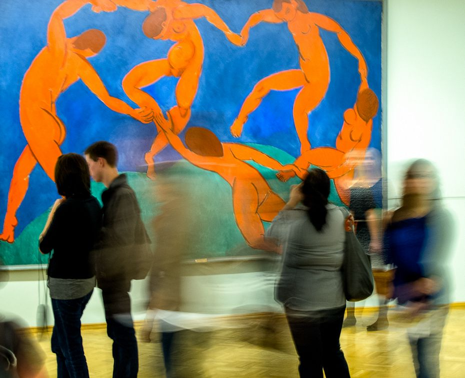 Inside the Hermitage / Matisse / St Petersburg / May 3, 2012