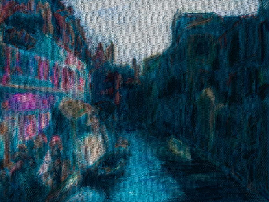 Venice / Photo Painting study 2