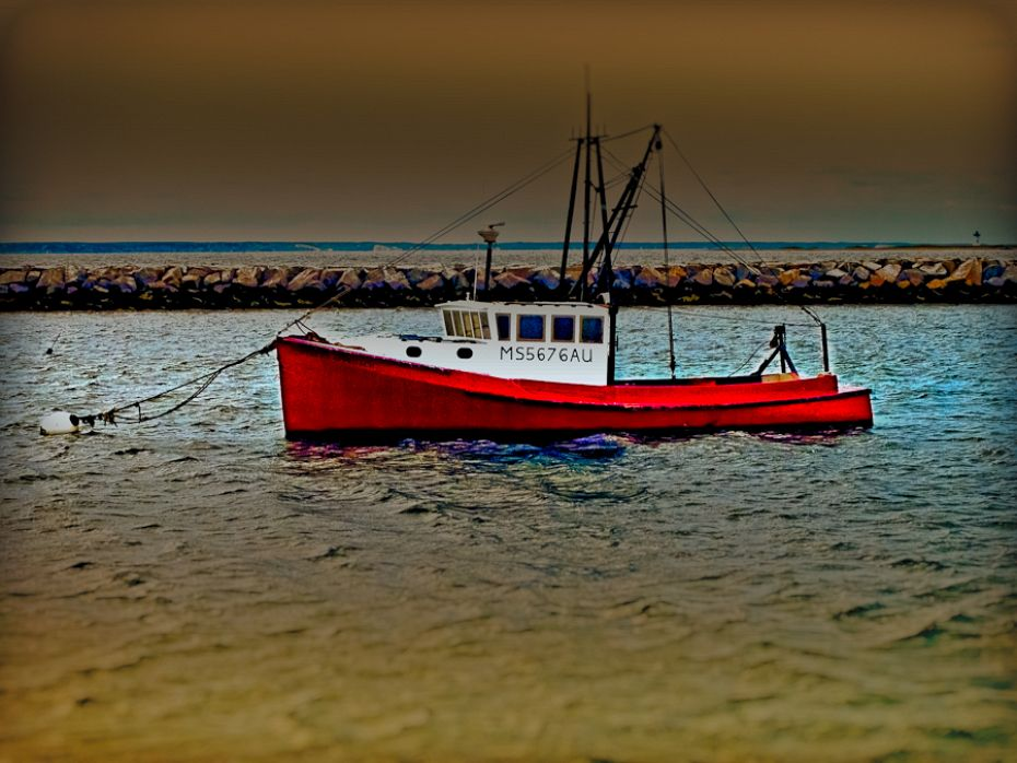 Provincetown Lobster Boat