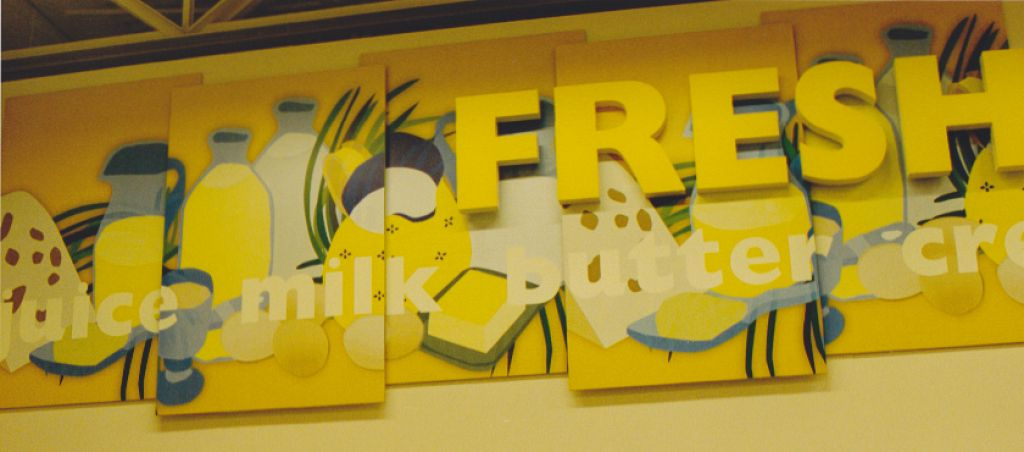 Hanaford Supermarkets / Decorative Interior Murals