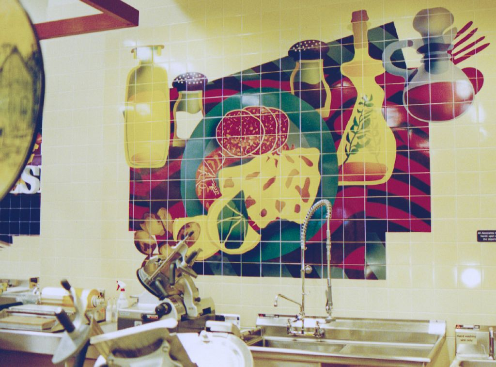 Hanaford Supermarkets / Decorative Tile Interior Murals