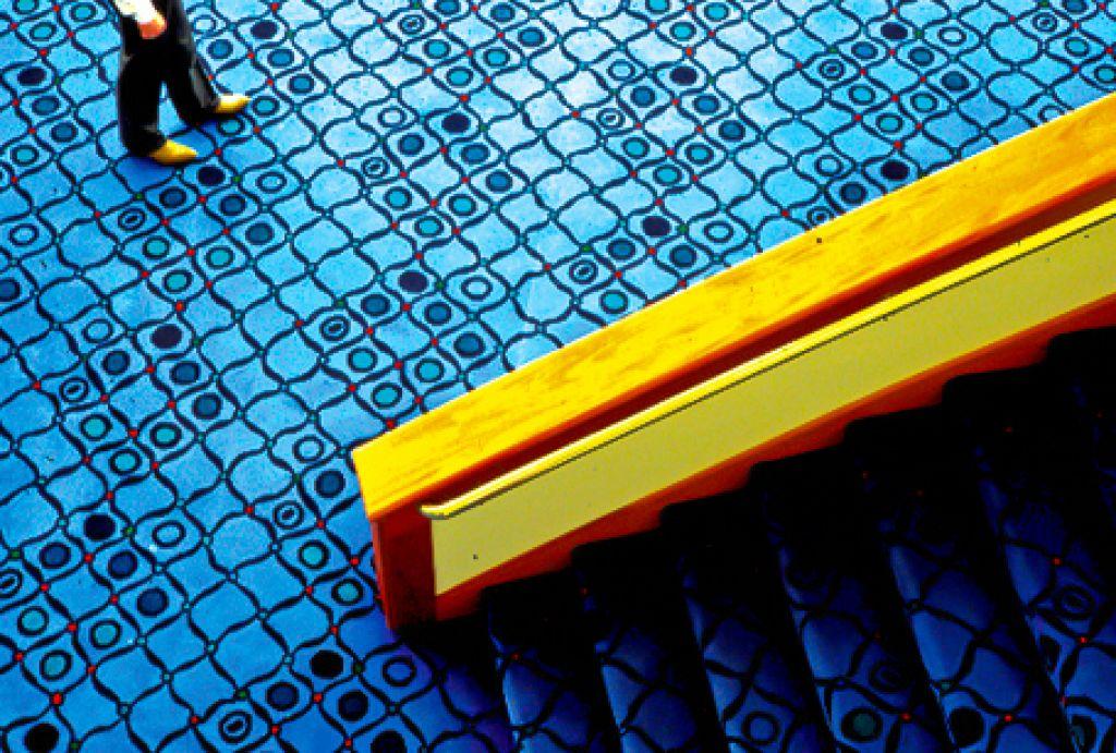 Ordway Music Theatre / Lobby & Theatre Custom Carpet Design