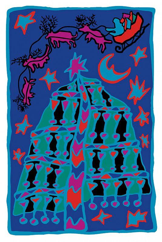 Marimekko Christmas Print One 1997