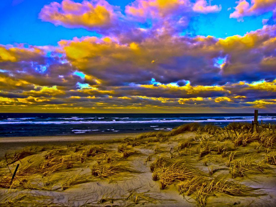 Sandy Neck / Windy Winter Day