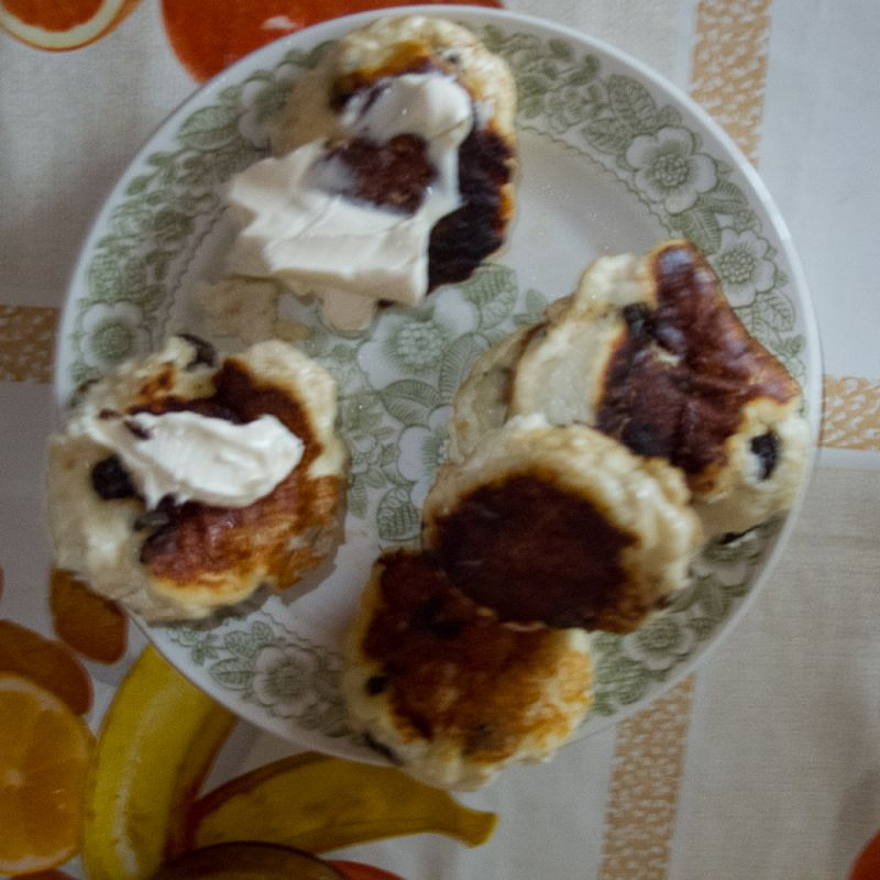 Russian Breakfast / Sirnaki Day 9