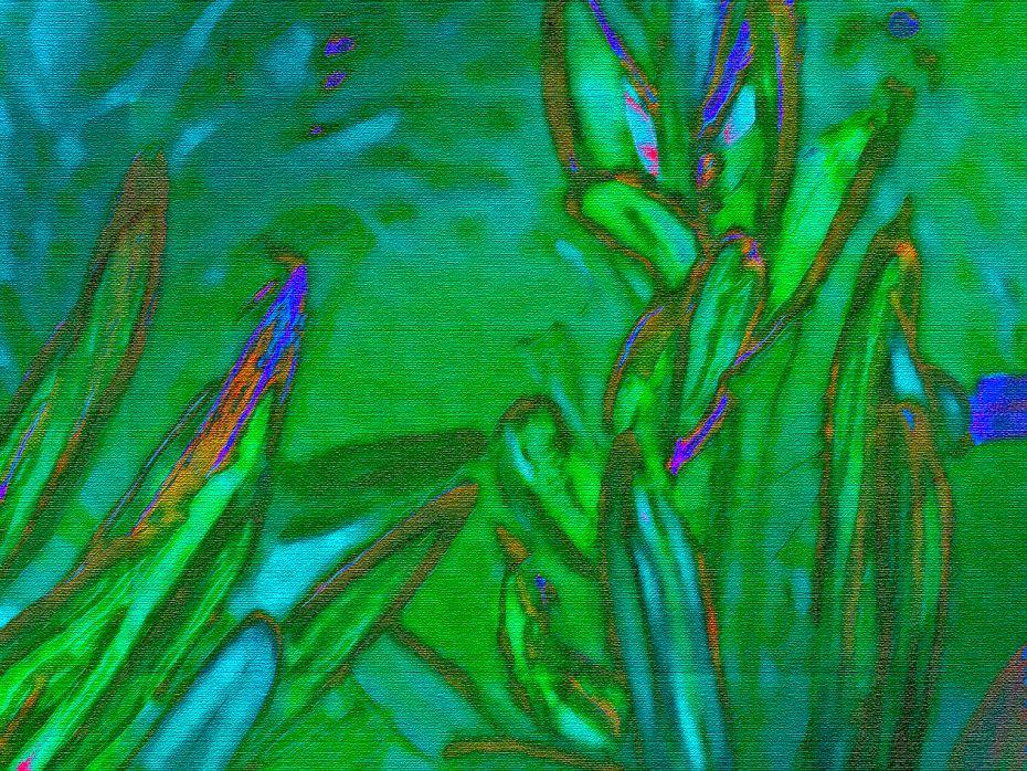 Pixel Bent Wild Grass