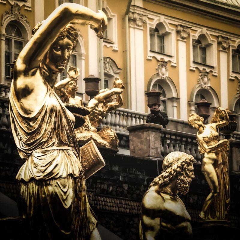 Peterhof / Saint Petersburg / May 2012