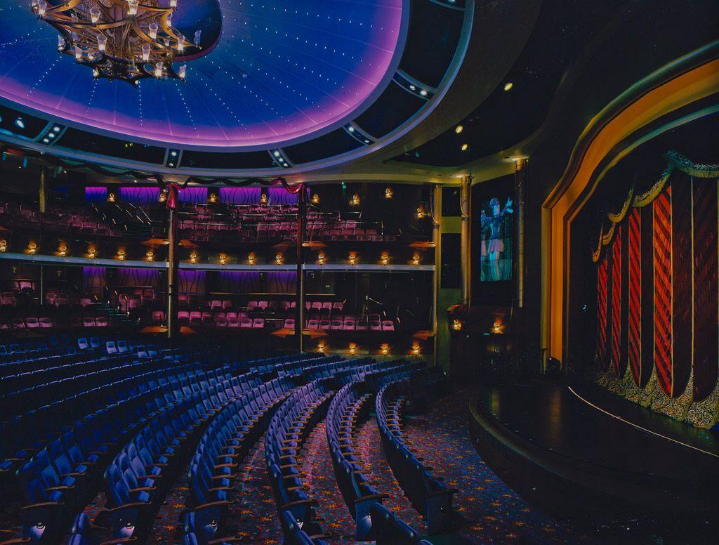 Royal Caribbean International / Theatre Carpet Design