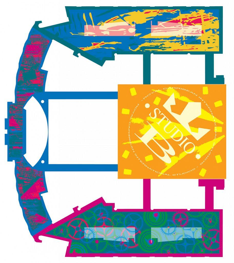 Royal Caribbean International / Carpet Studies / Floor Plan