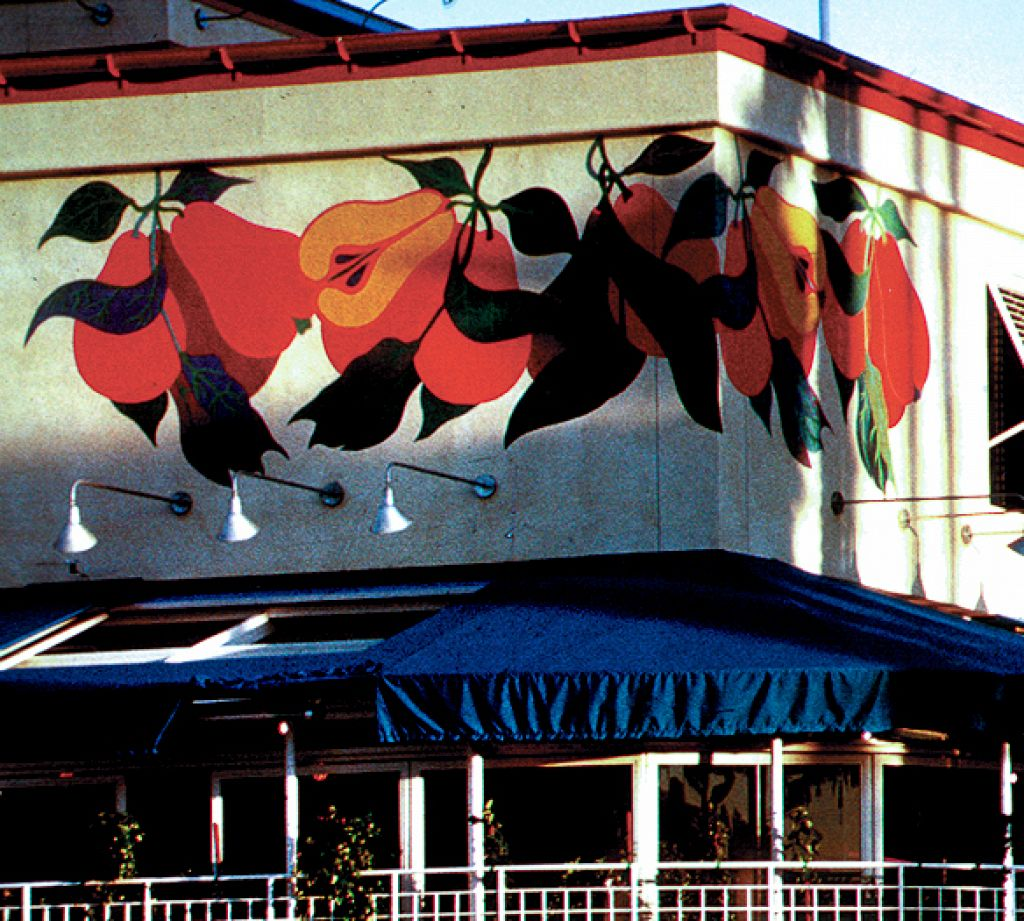 Century City Marketplace / Hand Painted Mural