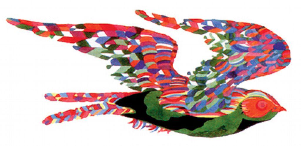 Century City Marketplace / Watercolor Painting / Tile Mural Design