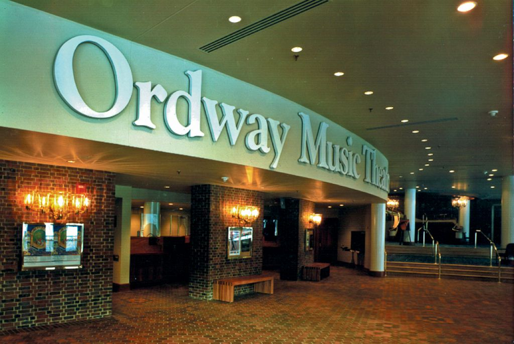 Ordway Music Theatre / Lobby Sign